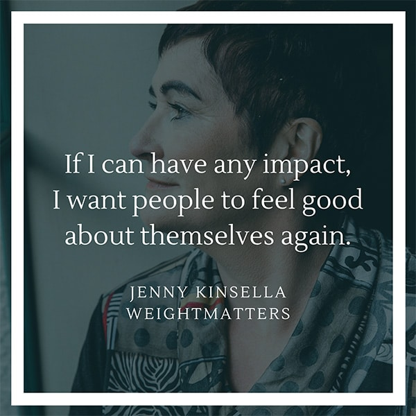 Jenny quote WeightMatters