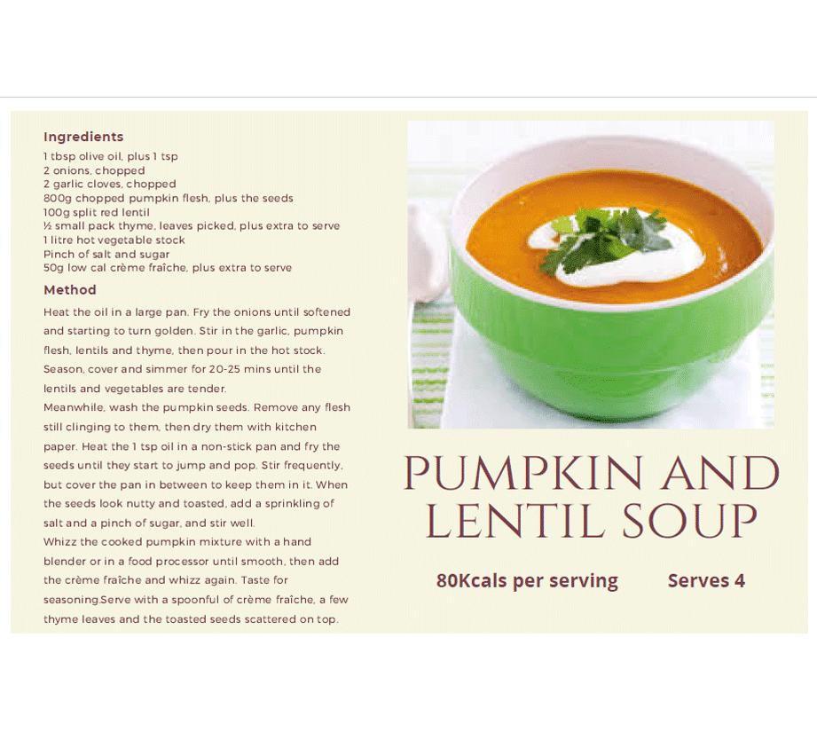 Pumpkin-and-Lentil-soup