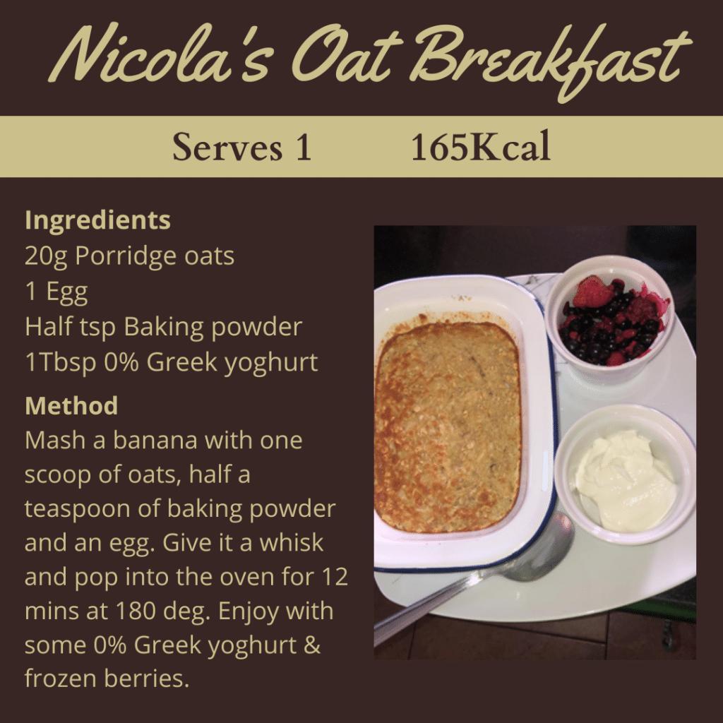 Nicola's breakfast